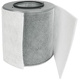 Austin Air FR205B Allergy Machine Junior Replacement Filter, White