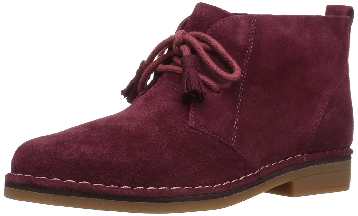 Hush Puppies Women's Cyra Catelyn Ankle Bootie B01N39DYAK 6.5 B(M) US|Burgundy