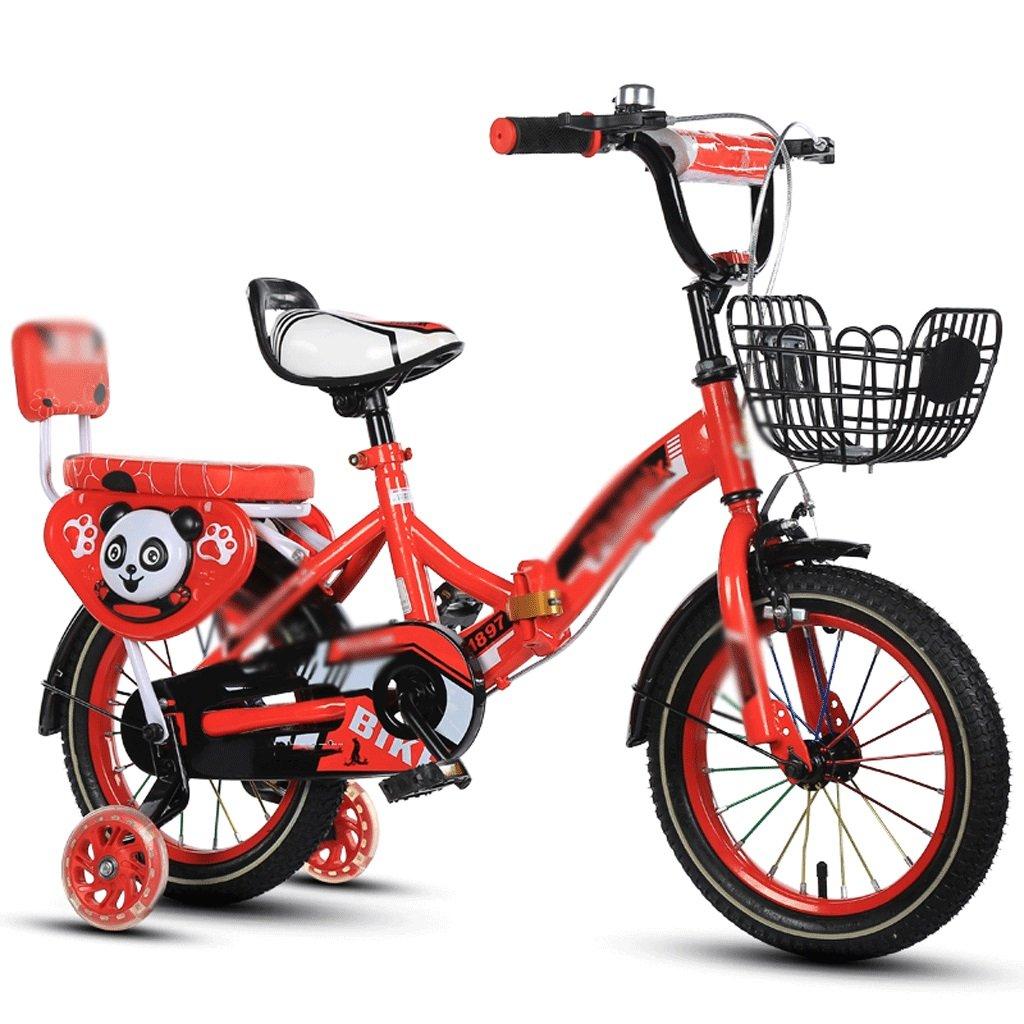 自転車 折りたたみ子供用自転車2-4-6-7-8-9-10年老いたベビーボーイ (サイズ さいず : 16 inch) B07DZRGBQH 16 inch 16 inch