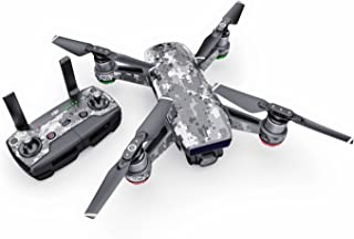 product image for Digital Urban Camo Decal for Drone DJI Spark Kit - Includes Drone Skin, Controller Skin and 1 Battery Skin