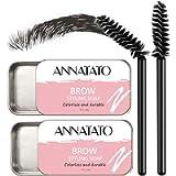 Eyebrow Soap Kit, Brows Styling Soap,4D Brows Gel Long Lasting Eyebrow Setting Gel Waterproof Eyebrow Tint Makeup Balm…
