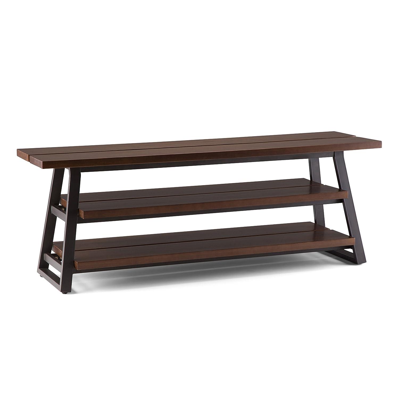 Amazon Com Simpli Home Axcadr 07 Adler Solid Wood And Metal 66 Inch