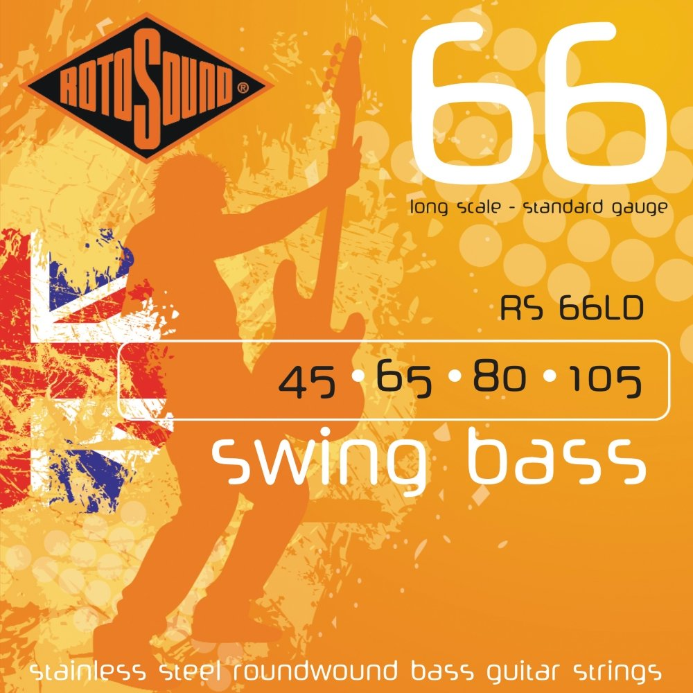 Rotosound RS66LD Long Scale Swing 66 Bass Strings 7689