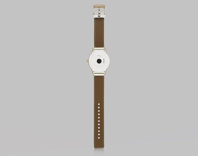 TCL Alcatel Movetime Smartwatch Cuero, Dorado: Amazon.es ...