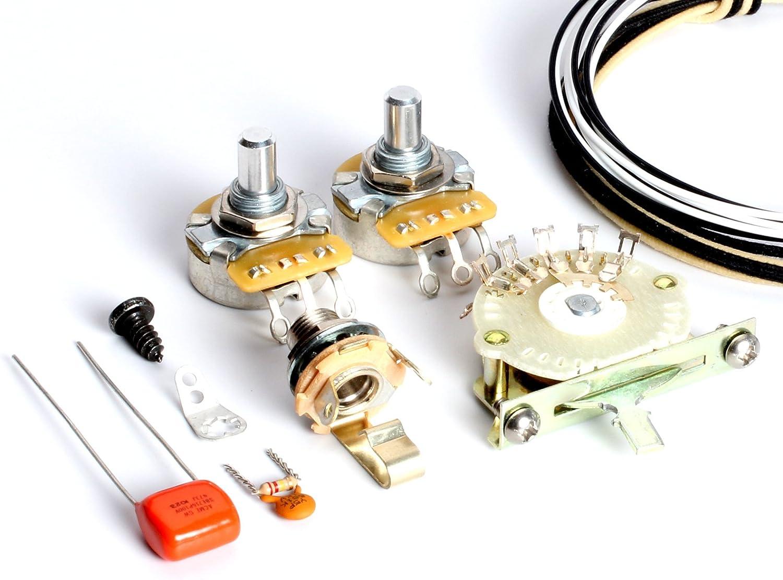 Amazon.com: ToneShaper Guitar Wiring Kit, For Fender Telecaster, SS3 (4-Way  ToneShaper Wiring): Musical InstrumentsAmazon.com