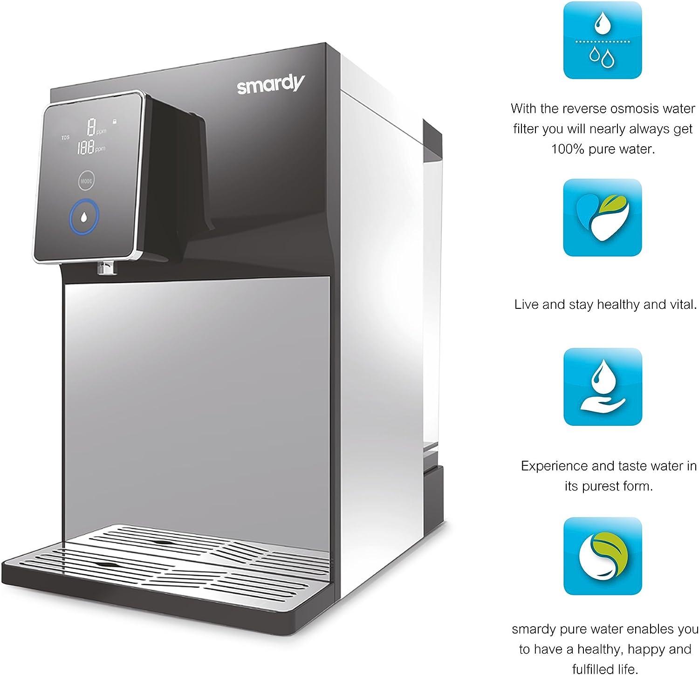 pure water Dispositivo ad osmosi inversa Decalcificatore Naturale 500g per smardy