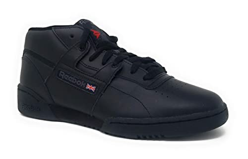 reebok workout mid workout reebok noir 345ARjL