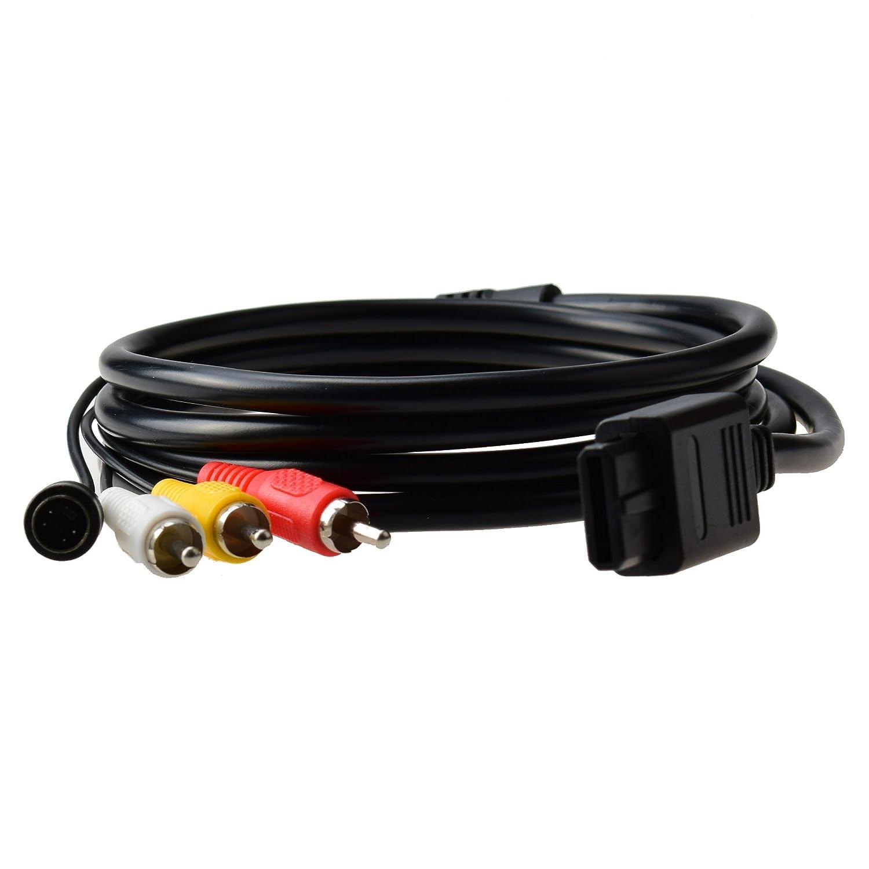 Gam3Gear Cable de S Video AV Video Audio Cable para Nintendo ...
