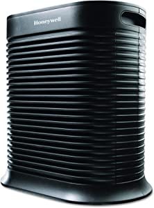 Honeywell True HEPA Allergen Remover, 465 sq. Ft, HPA300, Extra-Large Room, Black (Renewed)