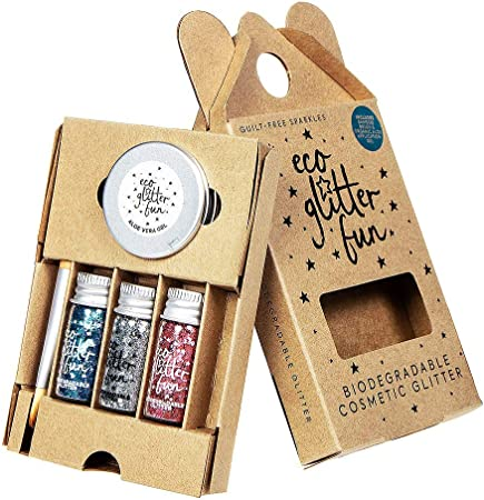 Eco Glitter Fun Purpurina Biodegradable y Vegana Para Cuerpo y ...