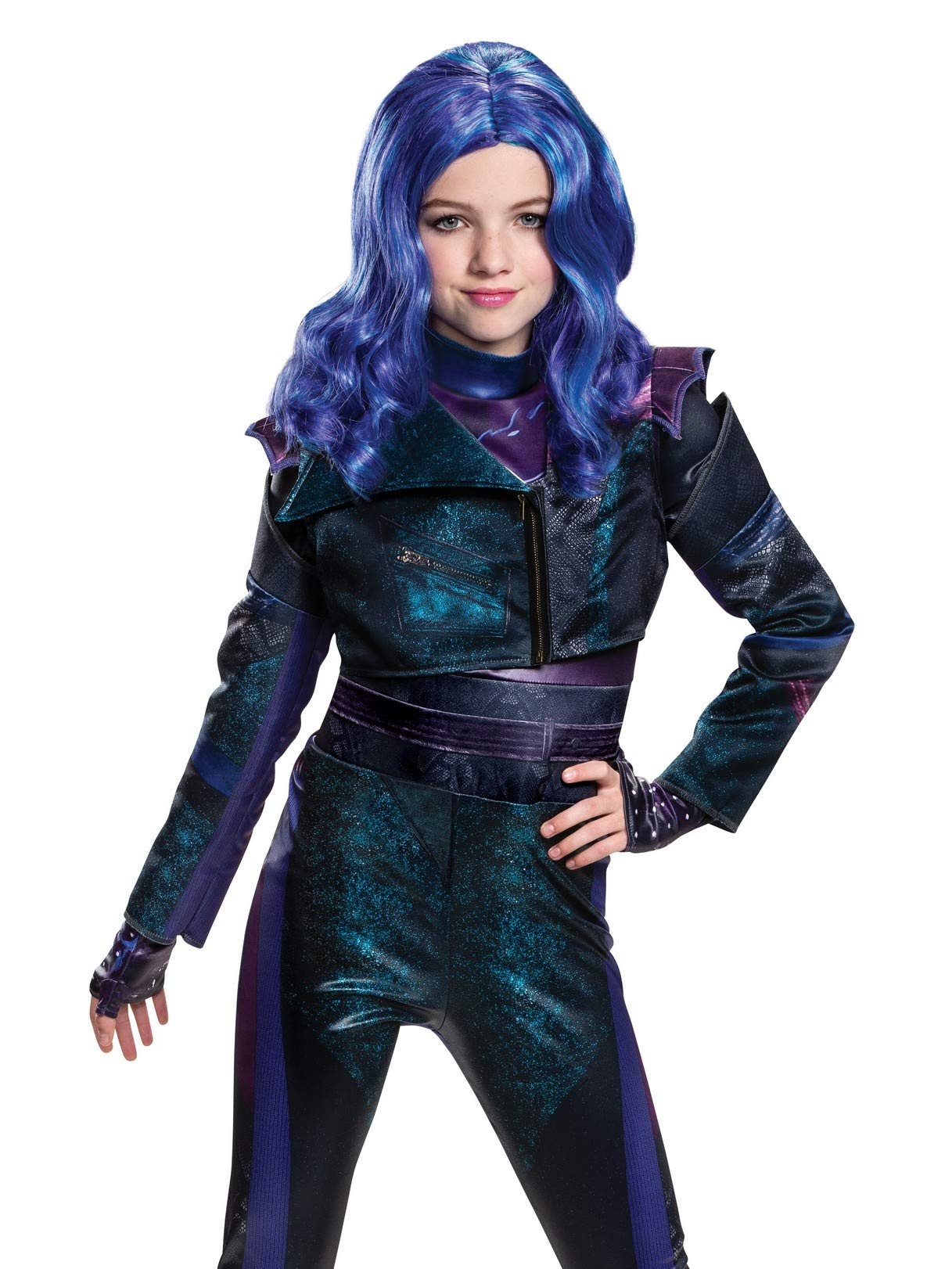 Disguise Descendants 3 Mal Wig Costume Accessory by Disguise