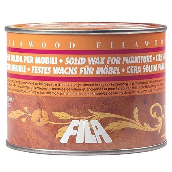 FILAWOOD ROSSA CERA SOLIDA PER LEGNO ML 500 (05027: Amazon.de: Küche ...
