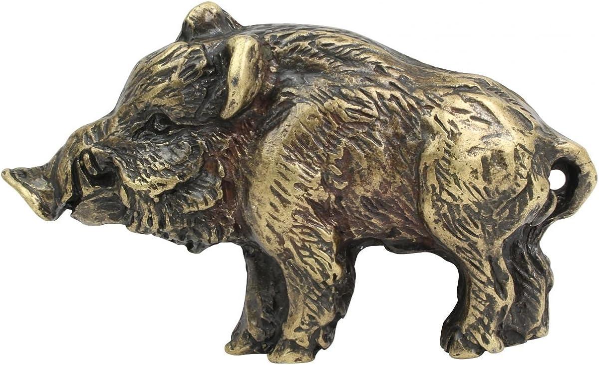 Brazil Lederwaren G/ürtelschnalle Wildschwein 4,0 cm Wechselg/ürtel bis zu 4cm Breite Buckle Wechselschlie/ße G/ürtelschlie/ße 40mm Massiv f/ür Jagd-Outfit