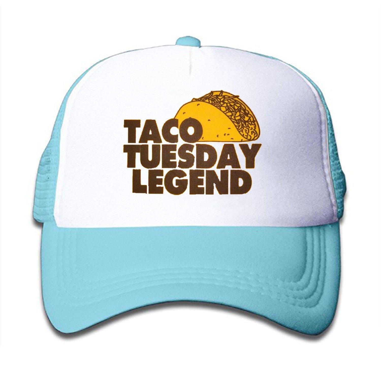 ZMvise Unisex Every Tuesday Taco Legend Custom Printed Cute Baseball Cap  Trucker Mesh Hat at Amazon Men s Clothing store  11142b1b927