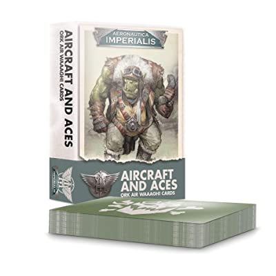 Games Workshop: Aeronautica Imperialis: Aircraft and Aces: Ork Air WAAAGH! Cards: Toys & Games