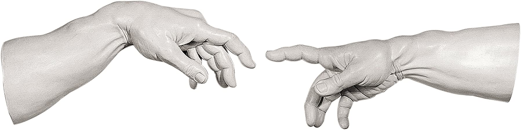 Design Toscano The Offering Hands Wall Sculpture Polyresin 28 cm Antique Stone