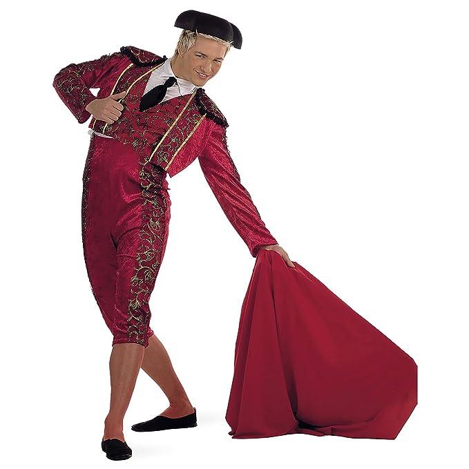 Da Fuoco Costume Con Di Ricami UomoColoreRosso Torero Forma A 8nk0OPw