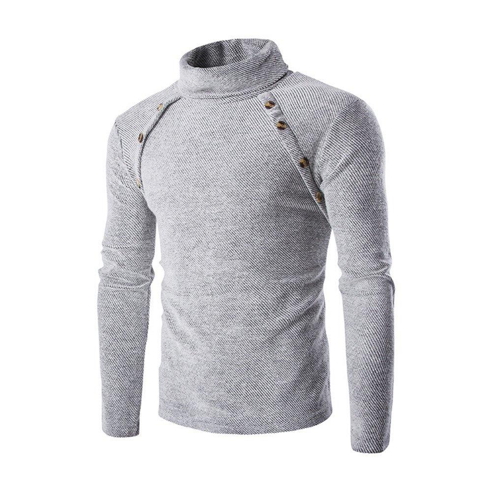 Doppelt symmetrisch rollkragen und - pullover und rollkragen schlanke männer pullover am revers,weiße,l 0864cc