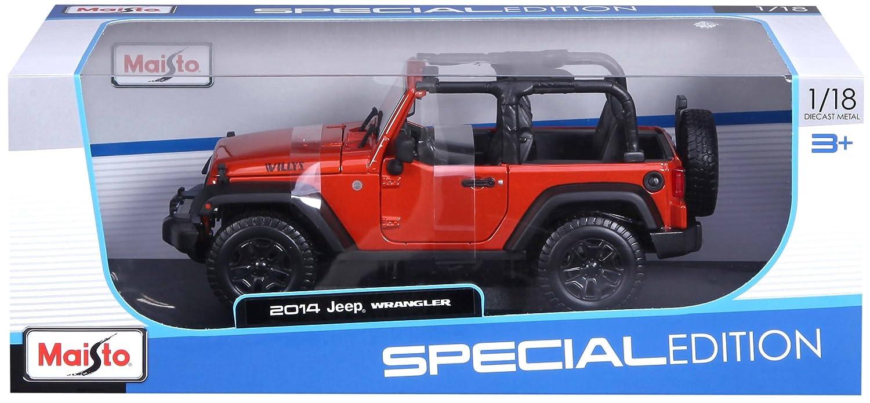 Modelo Jeep Wrangler surtido colores aleatorios Maisto 31610