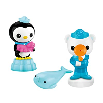 Fisher-Price Octonauts Barnacles, Peso and Narwal Squirter Pack: Toys & Games