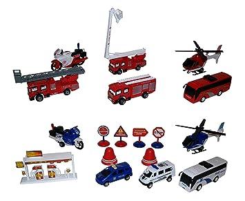 Police Voiture Set Bdr Pompiersamp; Jouet Pompier De Toys wPmNnOv80y