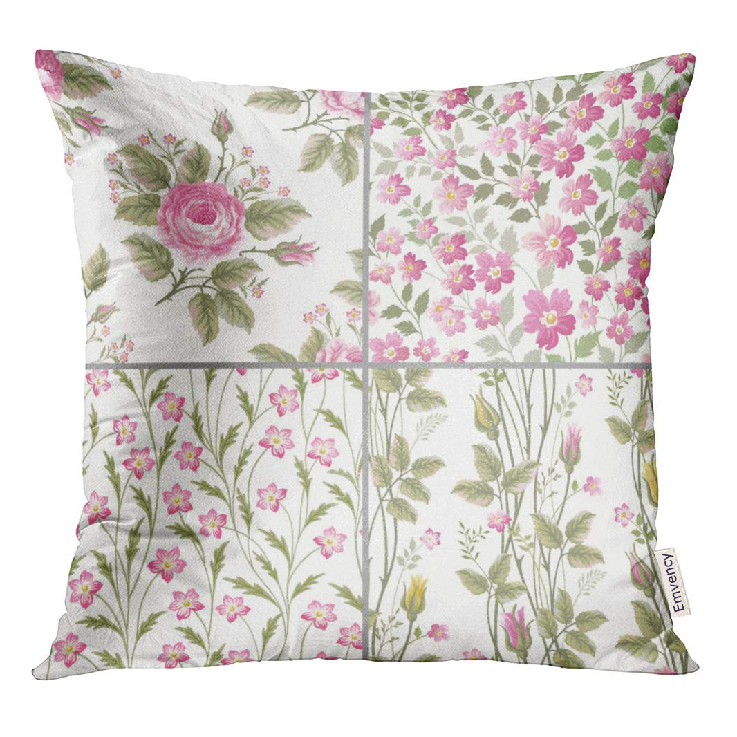 Amazon Com Semtomn Throw Pillow Cove Colorful Pastel Of Floral