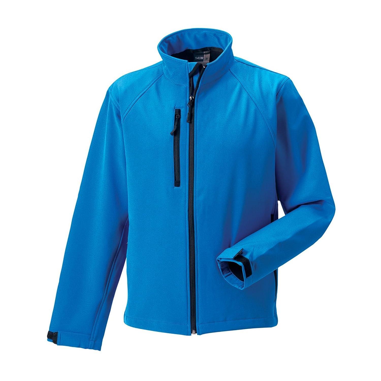 Bleu Azur M Russell Jerzees Colours - Veste coupe-vent résistante à l'eau - Homme