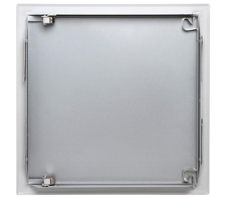 500 mm x 500 mm Ouverture Poussez//L/âchez Semin A03620 Trappe de Visite M/étallique Laqu/ée Blanche pour lAcc/ès aux Gaines Techniques et Conduites Int/érieur