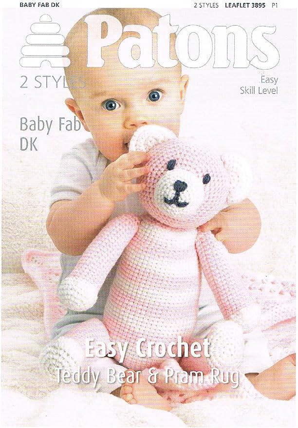 Ravelry: Easy-peasy teddy-bear — crocheted in one piece pattern by ... | 879x614