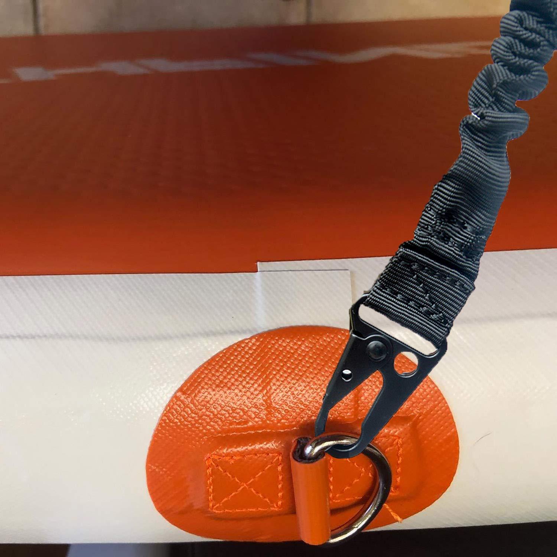 Paddleboard y Sup Surfboard Airsoft Sling de Rifle 2 Puntos Aisoft Sling Correa de Transporte de Pistola Ajustable Sling Tactical Bungee con Almohadilla para el Hombro Multiuso para Rifle Shotgun