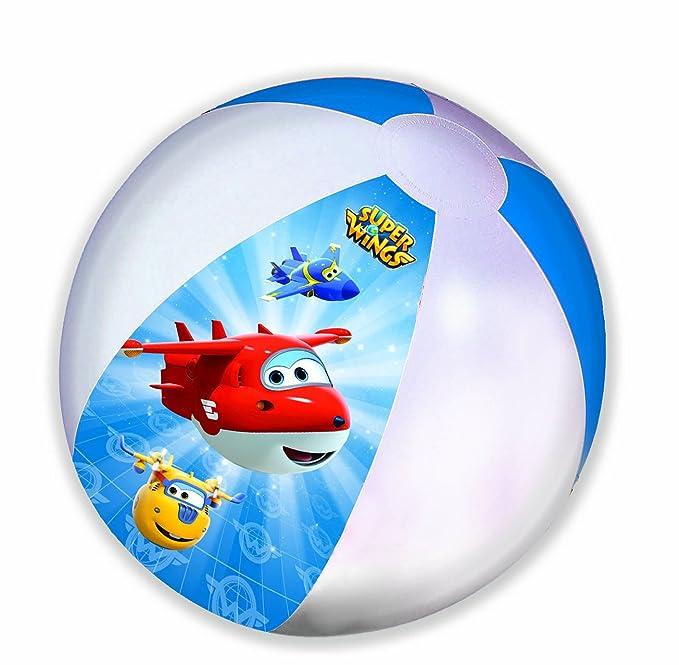 GIM 872 - 85130 - Balón de Playa Hinchable - Super Wings, 45 ...