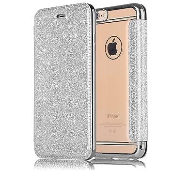 custodia iphone 8 plus argento