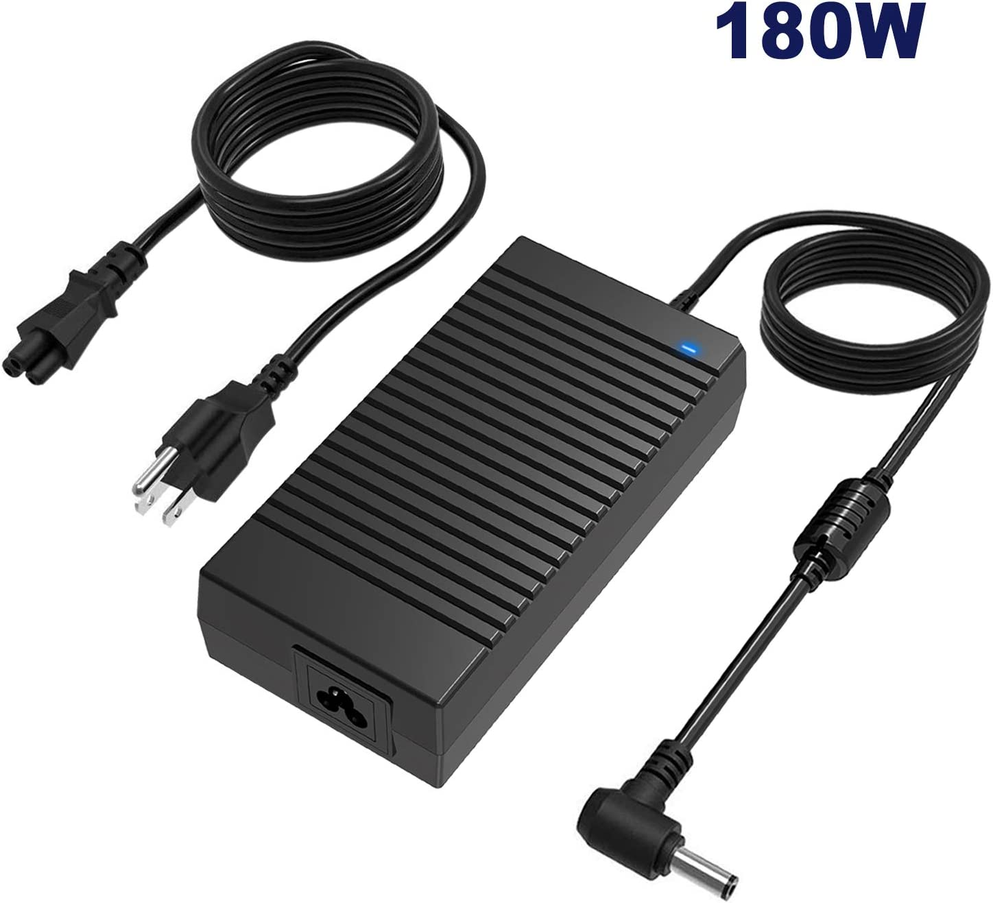 180W Asus Rog Laptop Charger,19V 9.5A 180W Asus Rog Power Adapter Compatible Asus Rog G55 G55VW G46VW G70 G75 G75VW G75VX A53 A53S G750JM G750JS G750JW G750JX G751JL G751JM G752VL G752VT FX5