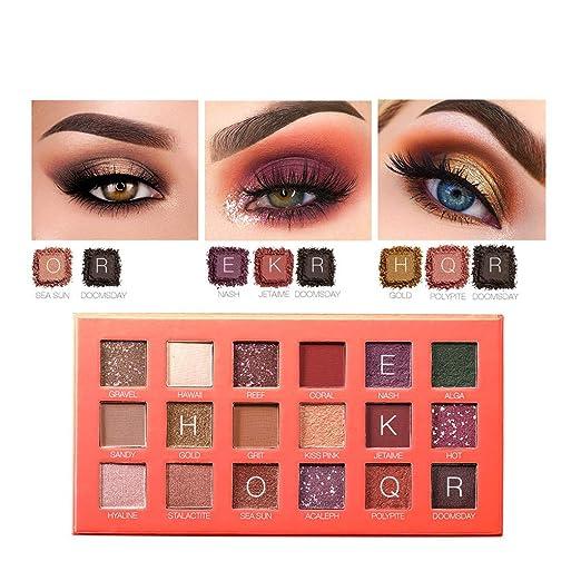 Amazon.com: UMFun💗💗Cosmetic Matte Eyeshadow Cream Makeup ...