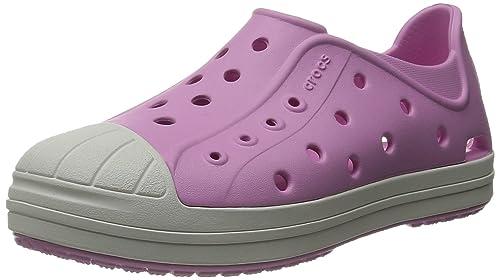 crocs Bumper Toe - Zapatillas de Material sintético para niño: Amazon.es: Zapatos y complementos