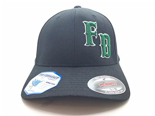 27286eb252c Image Unavailable. Image not available for. Color  FD 3D Flex Fit Green  Irish Firefighter ...