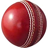 AnNafi Leather Cricket Ball Red Color A Grade | Hard and Seasoned Hand Stitched No Stamp for Indoor and Outdoor Practice…