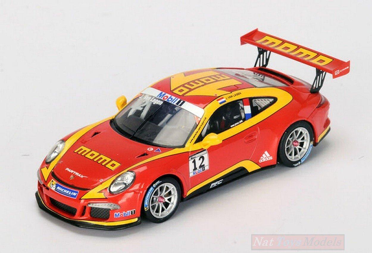 Spark Model SI003 Porsche Mobil 1 Momo Supercup N.12 2015 JAAP Van Lagen 1:43