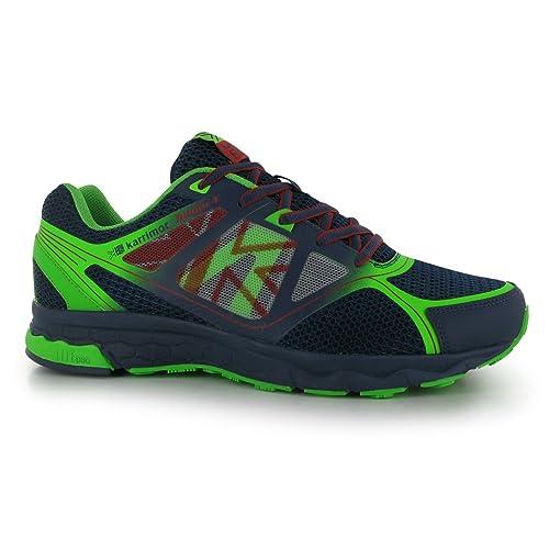 Karrimor Tempo 4 Hombre Running Sport zapatillas Jogging Zapatillas, color azul, talla 10.5(