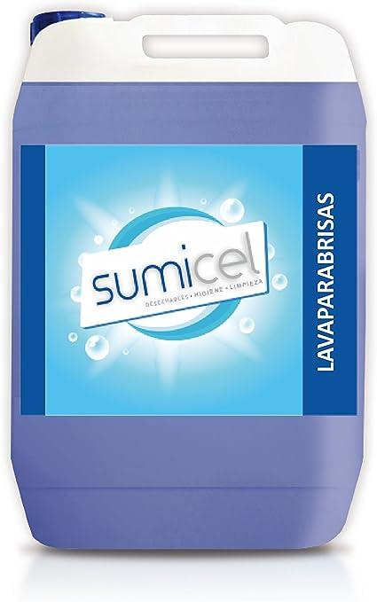 Sumicel Lavaparabrisas detergente líquido, garrafa de 5 litros (1): Amazon.es: Coche y moto