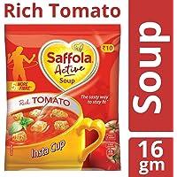 Saffola Active Soup, Rich Tomato, 16 gm