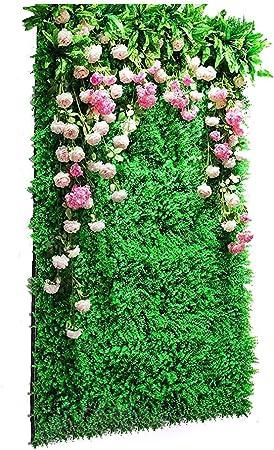 Xiaolin El Panel De Seto Artificial, La Cerca Verde Al Aire Libre De La Privacidad, El Paquete 4 De La Decoración De La Boda del Jardín Casero (Color : 05): Amazon.es: Hogar