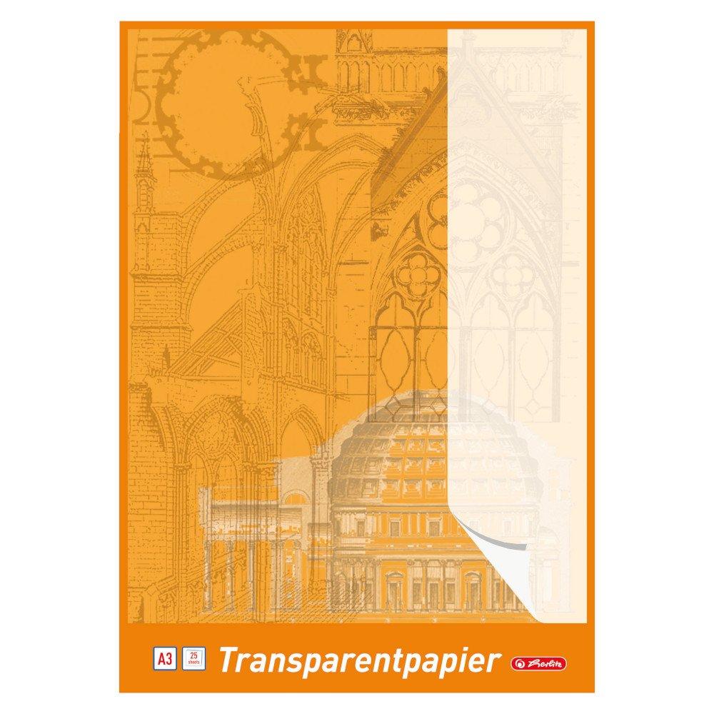 Herlitz 696401 Transparentpapierblock A4, 30 Blatt: Amazon.de ...