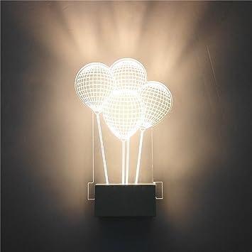 Ballon Lumière Led Gs Creative Mur Ampoule Moderne Chambre Lampes CorxBWde