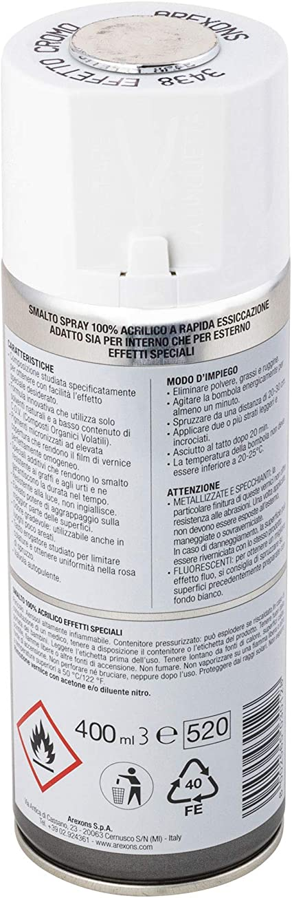 Arexons Spray Lack Chrom 6 Stück Baumarkt