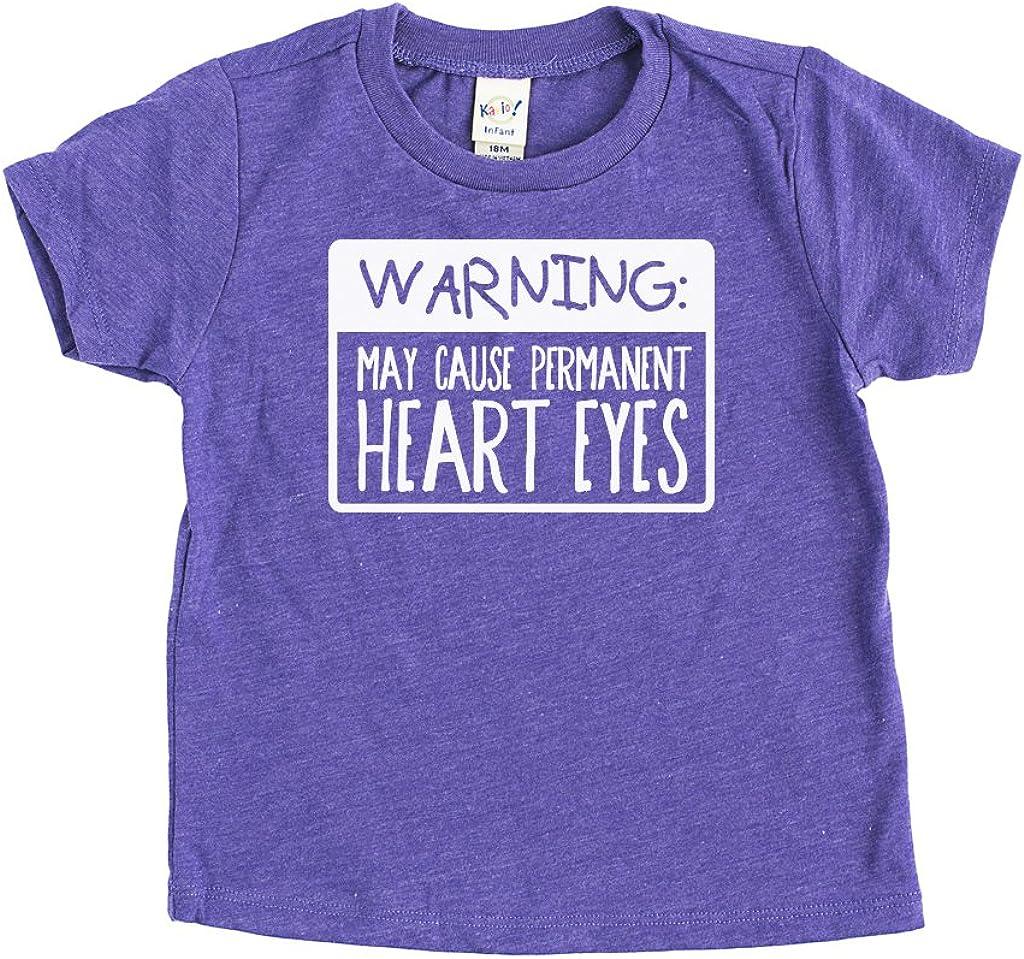 Urban Tee Farm Heart Eyes Kids Tee