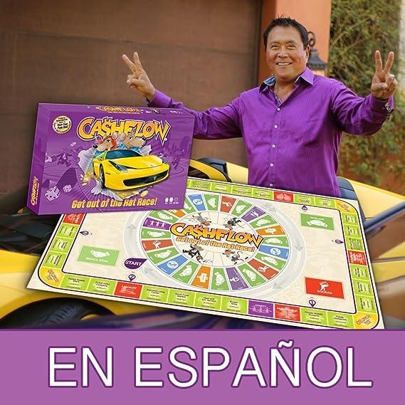 CASHFLOW 101 en ESPAÑOL - Juego de Mesa Creado por Robert Kiyosaki ...