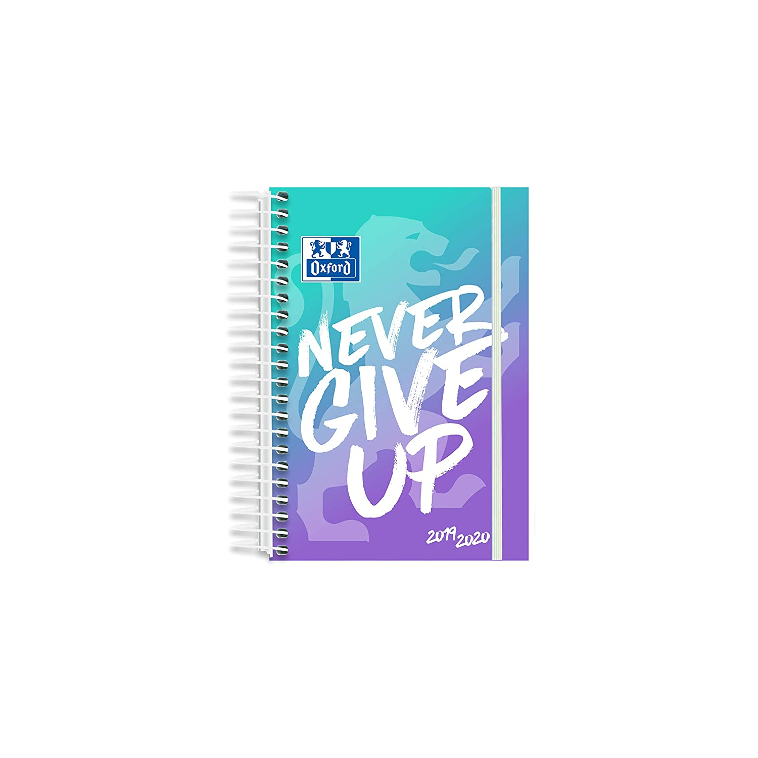 Oxford Agenda Escolar Never Give Up 12x18 Día Pagina 19-20 ...