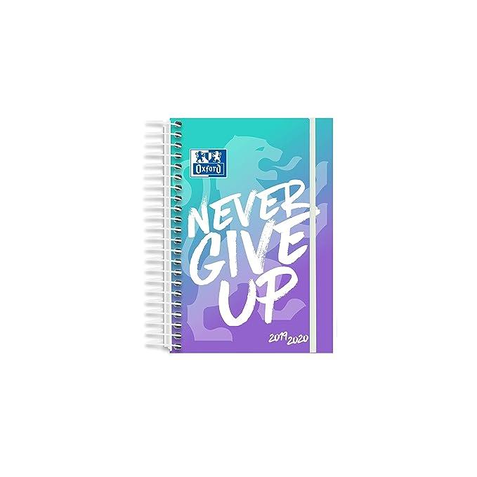 Oxford Agenda Escolar Never Give Up 12x18 Día Pagina 19-20 ...