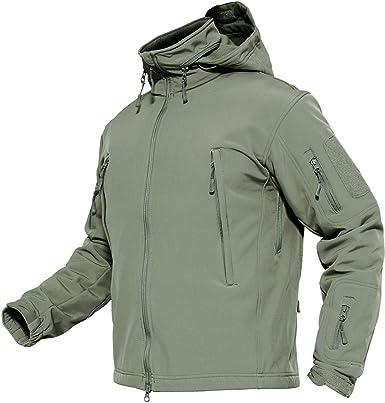 100% authentic be523 6e251 TACVASEN Herren Wasserdichte Softshell Fleece Outdoor Jacke ...